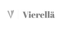 Vierellä logo